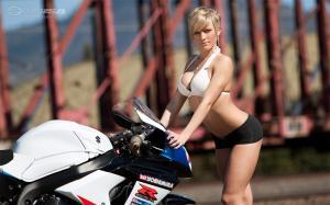 Con la moto